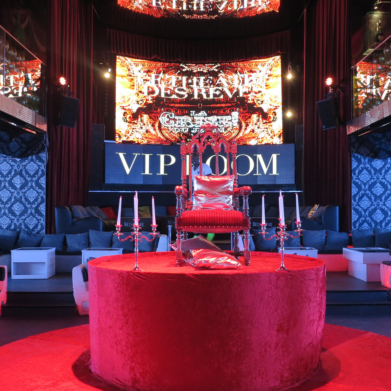 VIP Room paris décoration éphémère